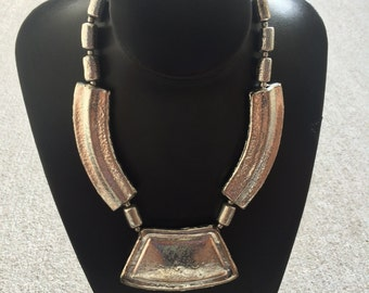 Tribal Silver Color Necklace