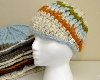 Kids Crochet Visor Beanie STASHBUSTER!