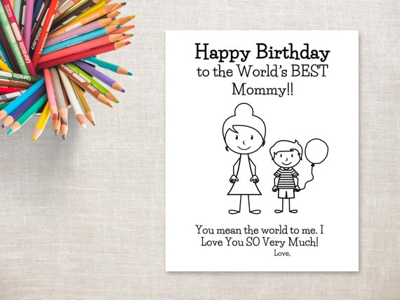 Current image intended for birthday cards for mom from daughter printable