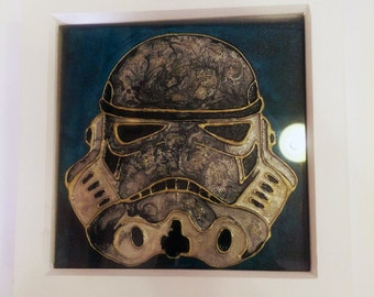 Star wars Stormtrooper canvas