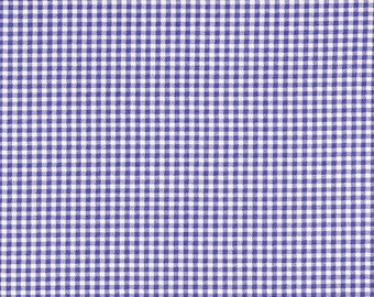 Euro Sham, Tailored, Lavender Gingham Check