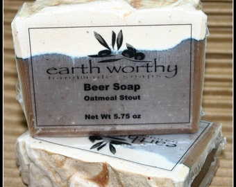 Oatmeal Stout Scented Beer Soap