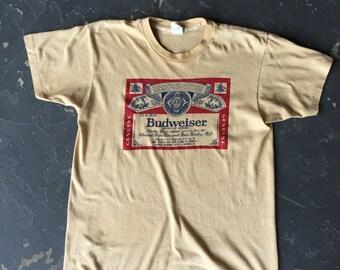 Vintage Budweiser Tee Shirt