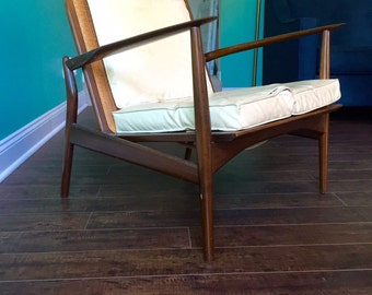 "Ib Kofod Larsen ""spear"" chair"