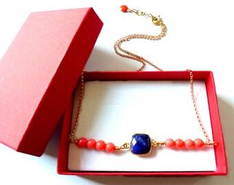 Necklace / Choker Sapphire