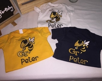 Fanwear Baby Onesie or T-Shirt in team colors!!!