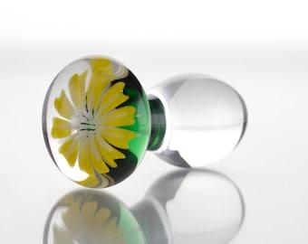 Small Glass Butt Plug - Carmen