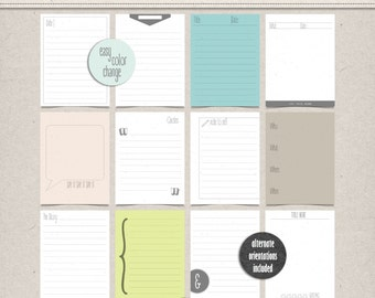 Write it Down - Journal Cards