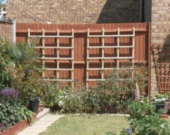 Wooden Heavy Duty Fence Climber Frames - Pair