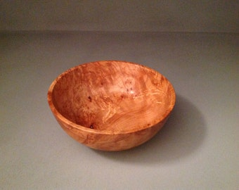 Maple burl bowl #4