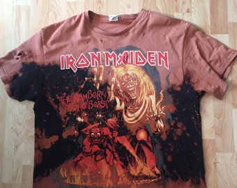 Vintage Hall of Fame Tee Iron Maiden Tee
