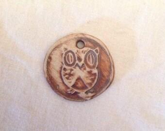 Funky Handmade Owl Pendant
