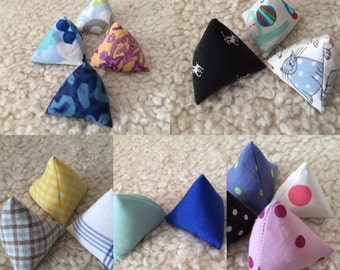 Sew lovely pattern weights, paper weights