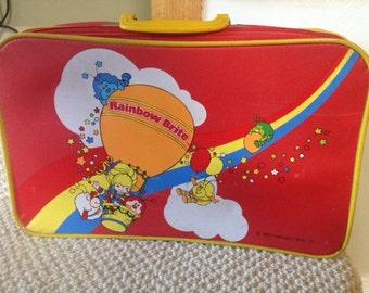 rainbow brite suitcase