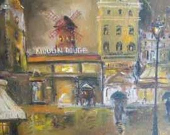 Sali Renee Boccard - Le Moulin Rouge, Paris, France
