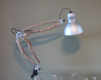 Work with arms Driftwood lamp