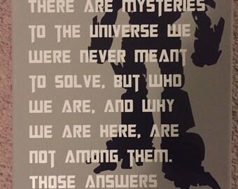Transformers / Optimus Prime quote