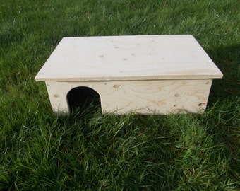 Guinea Pig/ Small Rabbit House/ Shelter/ Labyrinth/ 20'' x 13'' x 6''