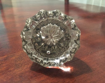 Vintage Crystal Door Knobs (Odd)