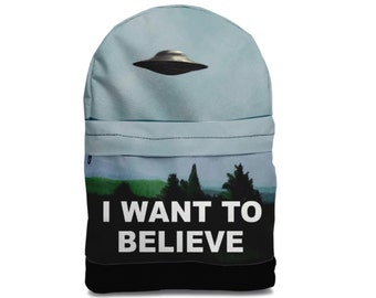 SALE! I want to believe backpack bag