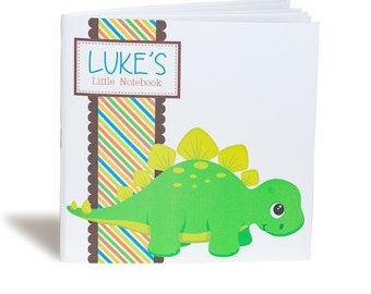 Personalised Dinosaur Notebook