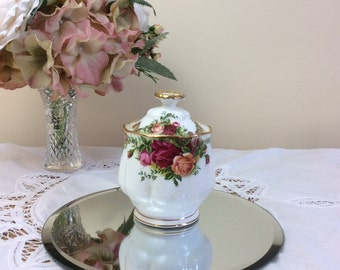 Royal Albert Old Country Roses 1st Quality Preserve Pot