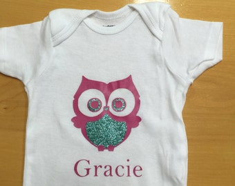Personalized Owl Shirt