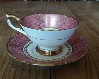 Royal Stafford art deco teacup & saucer