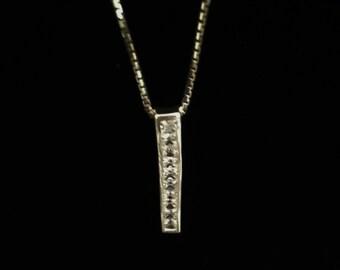 Metalsmiths Sterling .925 CZ Necklace