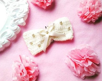 Big Crochet Bow