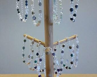 Gemstone Bracelet, Crystal Bracelet, Beaded Bracelet, Stone Bracelet, Hand Made, Gemstone Jewelry, Gift For Her, Gift For Mum