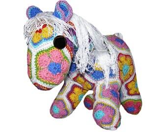 Crocheted Horse Plush Toy | Customized Stuffed Animal