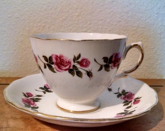 Royal Vale Tea Cup and Saucer