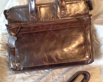 Leather handbag, leather shoulder bag, leather messenger bag, leather shoulder bag, leather satchel bag. Custom made