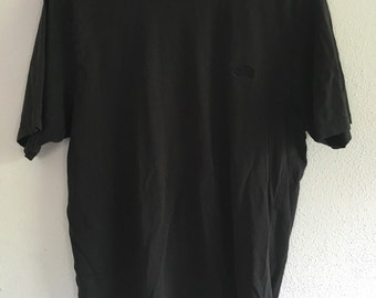 Black on Black North Face T-Shirt