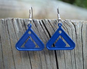 SALE! Stargate Earrings - Point of Origin - Earth Symbol Chevron