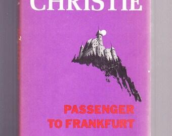 Passenger to Frankfurt by Agatha Christie Hardcover 1979