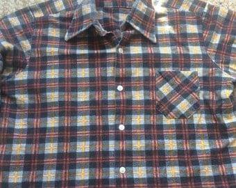 Vintage checked shirt