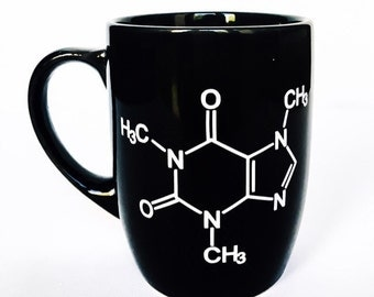 Coffee Chemistry mug - Teacher Appreciation Gift Geek Nerd