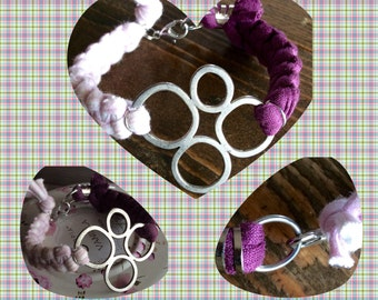 Bracelet two lilac