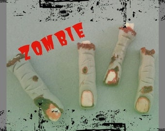 Zombie Fingers Edible Cupcake Topper (12)
