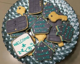 House Warming sugar Cookie Set