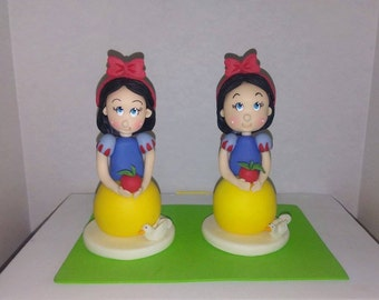 Snow White Cake Topper/ Party Favors