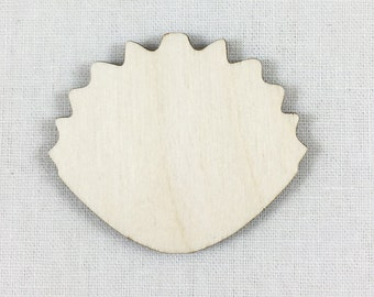 how to cut a scalloped edge in wood