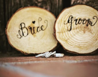 Wood placecards