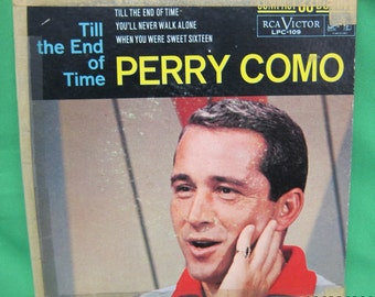 Till the End of Time - Perry Como Compact 33rpm