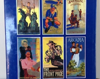 The Theater Posters of James McMullen, theater posters, New York theater, art photography,