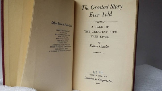 the greatest story ever told book pdf