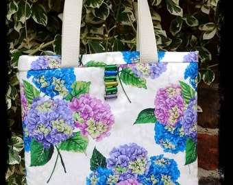Small hydrangea bag