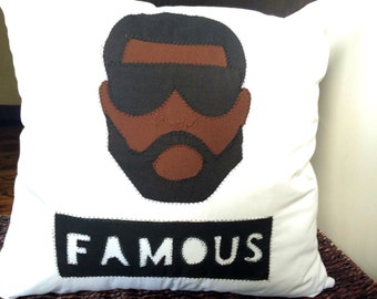 Kanye West Famous Pillow